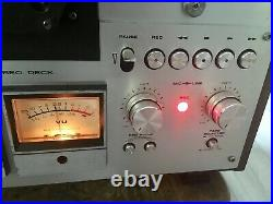 READ! AKAI GX-630D 10.5 inch 4 Track STEREO reel to reel tape deck recorder 630