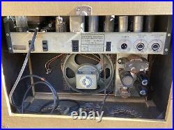 Rare Vintage Berlant Concertone Reel To Reel Transport Tube Preamplifier Speaker