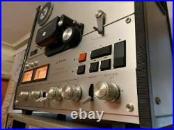Reel Stereo Tape Recorder Victor TD-5000SA GOOD working condition lookVIDEO DEMO