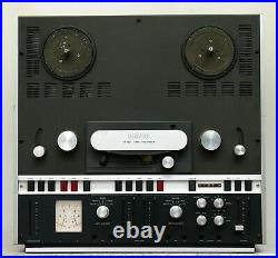 Revox A700 reel to reel tape recorder player audio from Studer