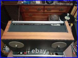 Revox A77 1/4 2 track reel to reel tape recorder works good