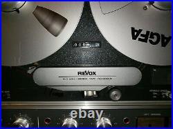 Revox B77 Mk II B 77 B-77 Mk2 Rtr Reel To Reel In Awesome Condition -reduced