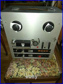 Roberts 1725-8L III Reel to Reel Tape Deck 8 Track Player Recorder
