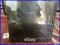 SONY TC-377 Reel-To-Reel Tape Player Clean Condition New Belts Tested with Reels