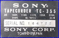 Sony Reel to Reel Tape Recorder