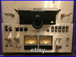 Sony TC-558 Vintage Reel to Reel Recorder Good Condition, Includes Reels