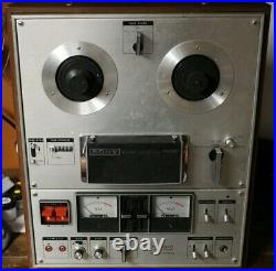 Sony TC-630 D Reel to Reel Tape Machine Rare! Powers on, selling as is FREE SHIP