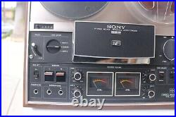 Sony Tc-377 Reel To Reel Three Head Stereo Tapecorder Deck Vintage Project