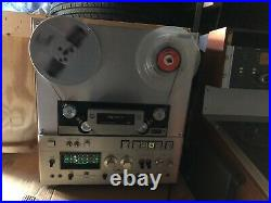 Sony Tc-880-2 Tape Recorder Reel To Reel Rare