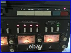 TASCAM 34B 10.5 inch 4 Channel STEREO QUAD reel to reel tape deck recorder