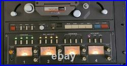 TASCAM 34B Pro Studio 4-Ch Reel to Reel 1/4 inch Tape Recorder ++ xtras
