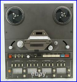 TASCAM 34B Pro Studio 4-Ch Reel to Reel Tape Recorder FULLY SERVICED
