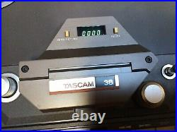 TASCAM 38 Reel to Reel 8-channel RECORDER/REPRODUCER with CS-607 CART RACK