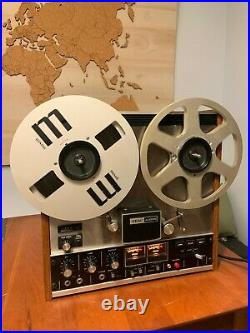 TEAC 3300 -10 Stereo Reel To Reel Recorder Tested and Works