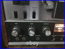 TEAC 3300S 10.5 inch 4 Track STEREO reel to reel tape deck recorder 330