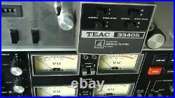 TEAC 3340S 4 track reel-to-reel