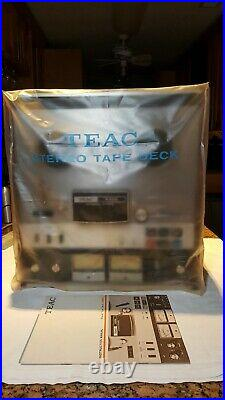 TEAC 4300 Reel To Reel Auto Reverse 7 Tape Deck Player Recorder Manual+Cover