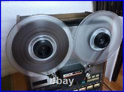 TEAC 80-8 Tascam Series 8-channel Reel to Reel 1/2 TAPE MACHINE