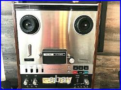 TEAC A-6300 Auto Reverse Reel to Reel Deck With Hub Adapters 1 Owner