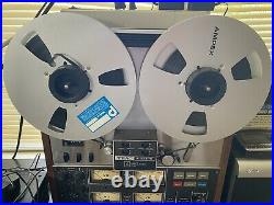 TEAC A3340S 10.5 15 IPS withSimul-sync Reel to reel tape recorder Look Cheap Rare