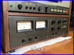 TEAC TASCAM SERIES 35-2 Reel to Reel 1/4 TAPE MASTERING RECORDER/REPRODUCER