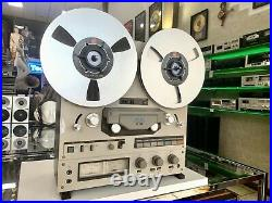 TEAC X-10 Open Reel to Reel 4 Track Stereo Tape Recorder Vintage 1979 Good Look