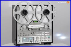 TEAC X-2000R Stereo Reel to Reel Tape Recorder Silver