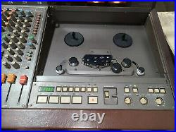 Tascam 388 Serviced Studio 8 1/4 8-Track Reel Tape Recorder Mixer (untested)