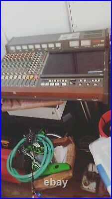 Tascam 388 Studio 8 1/4 8-Track Reel Tape Recorder Mixer Rare Vintage