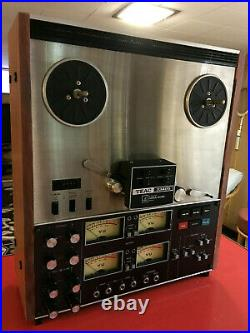 Teac 3340s Four Track Simul Sync Reel To Reel Stereo Recorder Tape Deck
