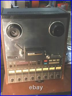 Teac 80-8 8 Track Reel To Reel Tape Recorder