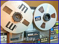 Teac 80-8 8 Track Reel To Reel Tape Recorder + 37 Tapes Gift