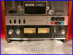 Teac A-6300 Reel To Reel Tape Deck Recorder Serviced & 30 Day Guarantee