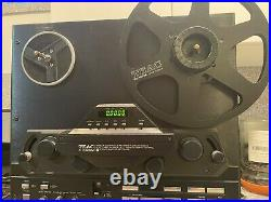 Teac X-2000m Reel To Reel Dolby Tape Deck Recorder