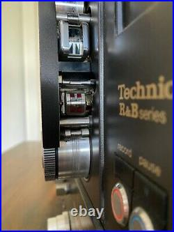 Technics 10A02 1/4 2 track reel to reel tape recorder AS IS