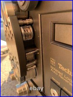 Technics RS-1700 4Track Reel to Reel Recorder MULTY Voltage Nice