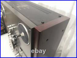 Technics RS-1700U Auto-Reverse Reel To Reel Tape Recorder + Dust Cover