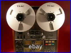 Two Teac Re-1002 Metal 10.5 Reel For 1/4 Reel To Reel Tape Deck Recorders