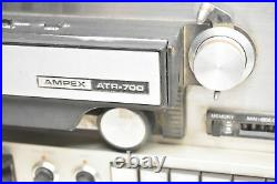 VINTAGE Ampex ATR-700 Professional Reel to Reel Analog Tape Recorder Powers On