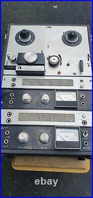 VINTAGE ROBERTS Tube pre amp STEREO REEL TO REEL RECORDER MODEL 770X Akai M8