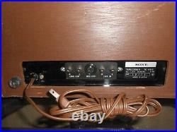 VINTAGE SONY TC-458 REEL TO REEL (For Part or Repair)