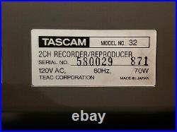 VTG Tascam PROFESSIONAL 32 Reel To Reel