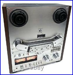 Vintage AKAI GX-635D 4 Track Stereo Tape Deck Reel To Reel Recorder Parts/Repair