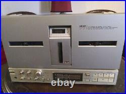 Vintage AKAI GX-77 Reel-to-Reel 4-Track Tape Deck Player Recorder