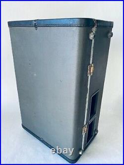 Vintage AMPEX AG-600-2 Portable Reel to Reel Amp Suitcase AG-600B