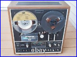 Vintage Akai GX-1820 Reel to Reel 8-Track Tape Recorder