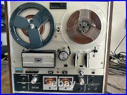 Vintage Akai Gx-220d Reel To Reel Tape Recorder