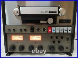 Vintage Ampex ATR-700 7 1/2 15 IPS High Speed 2 Track 2 Channel Reel To Reel