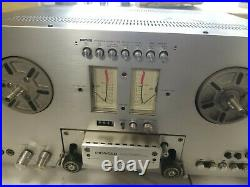 Vintage Pioneer RT-707 Direct Drive Auto Reel to Reel Tape Deck Recorder TESTED