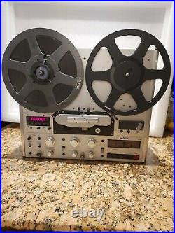 Vintage REVOX STUDER PR99 2 Trk/ 2 Ch Open Reel to Reel Player WORKING+BOMUS